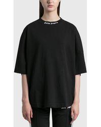 Palm Angels Classic Logo Over T-shirt - Black