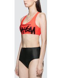 Stussy Myla Swim Top - Orange