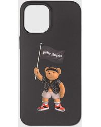 Palm Angels Pirate Bear Iphone 12 Pro Max - Black