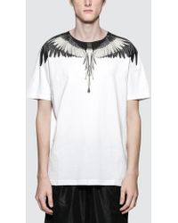 Marcelo Burlon Wings S/s T-shirt - White