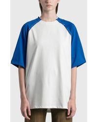 ADER error Sciss T-shirt - Blue