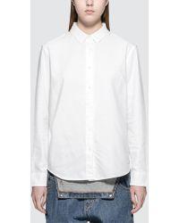 Calvin Klein Jeans - Wilba Oxford Shirt - Lyst