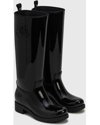 Moncler Ginger Rain Boots - Black