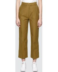Obey - Audrey Cropped Pant - Lyst