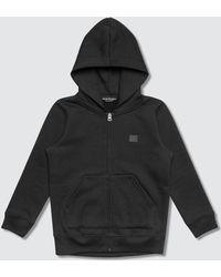 Acne Studios Mini Ferris Zip Face Full Zip Hoodie - Black