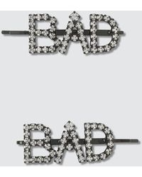 Ashley Williams Bad Hair Pins - Metallic