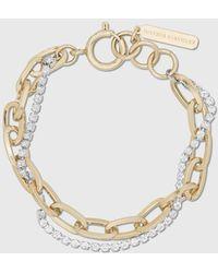 Justine Clenquet Kirsten Gold Bracelet - Metallic