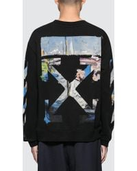 f561be5ae90f Off-White c o Virgil Abloh - Diag Colored Arrows Slim Sweatshirt - Lyst