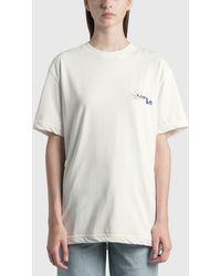 ADER error Foil Tape Logo T-shirt - White