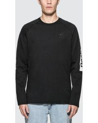 Reebok - F Gr L/s T-shirt - Lyst
