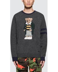 Polo Ralph Lauren - Bear Knitwear - Lyst
