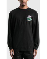 Stussy International Long Sleeve T-shirt - Black