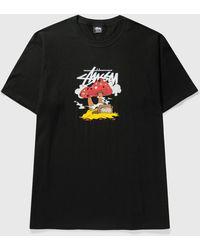 Stussy Something's Cookin' T-shirt - Black