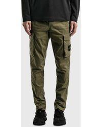 Stone Island Cargo Pants - Green
