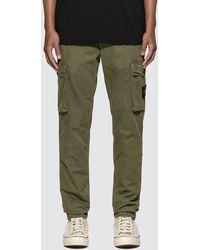 Stone Island Slim Fit Pocket Cargo Pants - Green