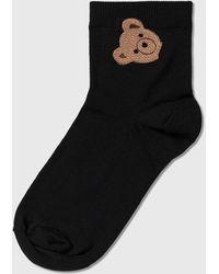 Palm Angels Bear Socks - Black