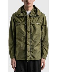Stone Island Shadow Project Vented Field Jacket - Green
