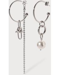 Justine Clenquet Emma Earrings - Metallic