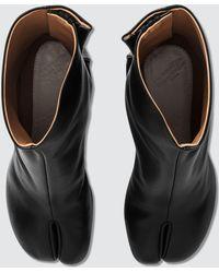 Maison Margiela Tabi Calfskin Boots - Black