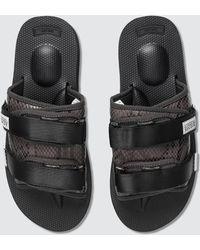 Suicoke Moto-vsnk Slide Sandals - Black