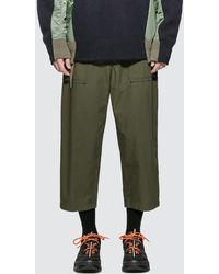 Sacai Fatigue Cropped Pants - Natural