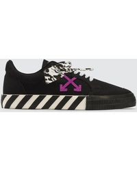 Off-White c/o Virgil Abloh Low Vulcanized Trainer - Black