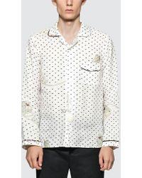 Loewe - Paula Plumetis Pajama Shirt - Lyst
