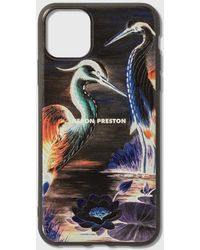 Heron Preston Cvr 11 Pro Max Her Times Iphone Cover - Black