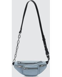 Alexander Wang Attica Soft Mini Fanny Crossbody Bag - Blue