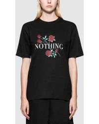 Wasted Paris - Nothing S/s T-shirt - Lyst