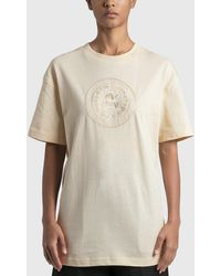 Acne Studios Elice Embroidered T-shirt - White