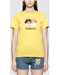 Fiorucci Vintage Angels T-shirt - Yellow