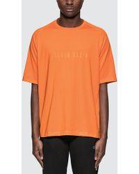 CALVIN KLEIN 205W39NYC - Logo Mid Sleeve T-shirt - Lyst