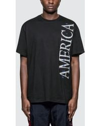 Perry Ellis - Vertical America T-shirt - Lyst