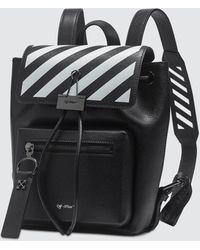 Off-White c/o Virgil Abloh Diag Binder Backpack - Black