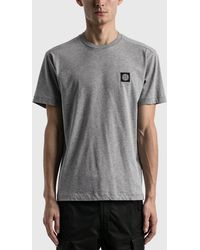 Stone Island Classic Patch T-shirt - Grey