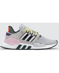 408c8cecf425 Lyst - adidas Originals Eqt Support Sock Women s