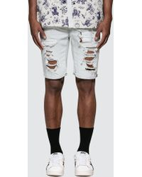 7df0f7d4 Levi's Levis Men's 511 Slim Cutoff Bloke Denim Shorts, Grey Men's ...