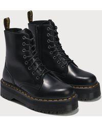 Dr. Martens - Jadon Smooth Leather Platform Boots - Lyst