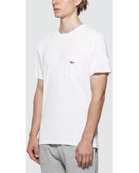 Maison Kitsuné Tricolor Fox Patch T-shirt - White