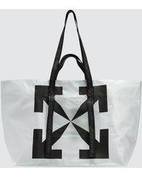 Off-White c/o Virgil Abloh Arrows Tote Bag - Natural