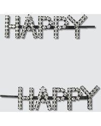 Ashley Williams - Happy Hair Pins - Lyst