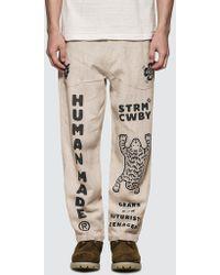 Human Made Deck Pants - Natural