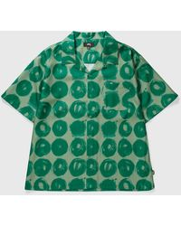 Stussy Hand Drawn Dot Shirt - Green