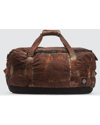 Stone Island 913pd Paintball Camo Cotton/cordura® Duffle Bag - Brown
