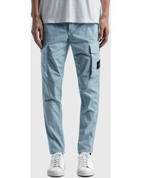 Stone Island Cargo Pants - Blue