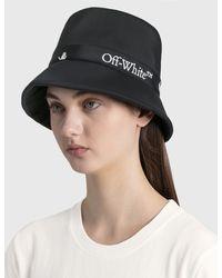 Off-White c/o Virgil Abloh - Logo Bucket Cap - Lyst