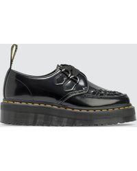 Dr. Martens Sidney Creeper Quad Platform Shoes - Black