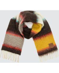 Loewe Mohair Scarf Stripes - Multicolour