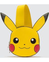 Gcds Pikachu Shaped Tote Bag - Yellow